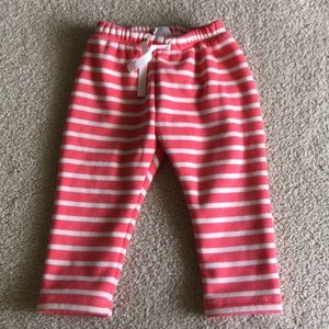 Baby Gap Girl Stripe Lined Sweats